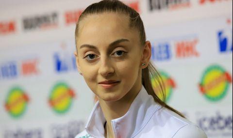 Браво! Златен медал на обръч за Боряна Калейн на Световната купа в София