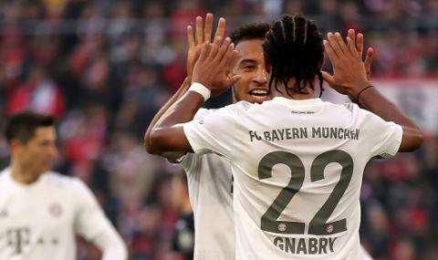 След смяната на треньора: Байерн продължава да гази в Бундеслигата