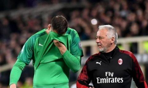 Донарума отклонил две предложения за нов договор с Милан