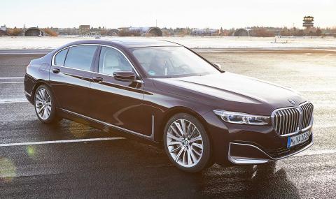 Новото хибридно BMW 7er харчи 2.1 на 100