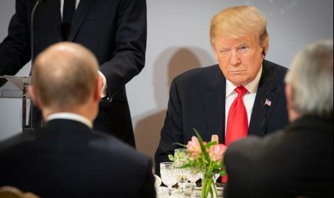 Путин се изказа против Тръмп