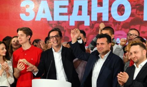 Президентът на Северна Македония връчва мандат на Зоран Заев
