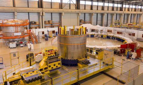 Проектът за международния експериментален термоядрен реактор е реализиран на 73%