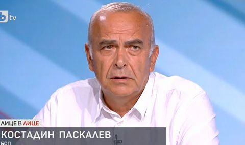 Костадин Паскалев: Имахме римейк на Борисов в лицето на Слави Трифонов