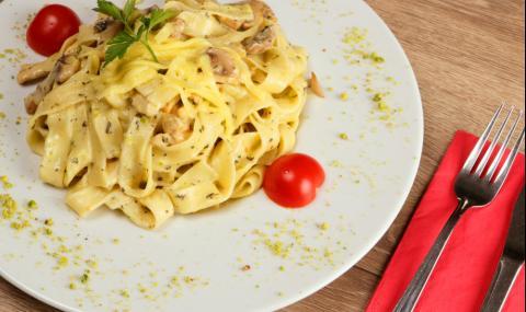 Рецепта за вечеря: Фетучини