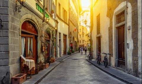Храниш се на улицата във Флоренция? Глоба €500!