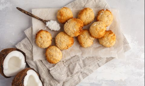 Рецепта на деня: Кокосови бисквити - 1