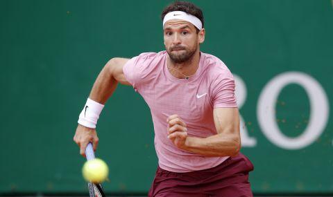 Григор Димитров падна с три места в световната ранглиста