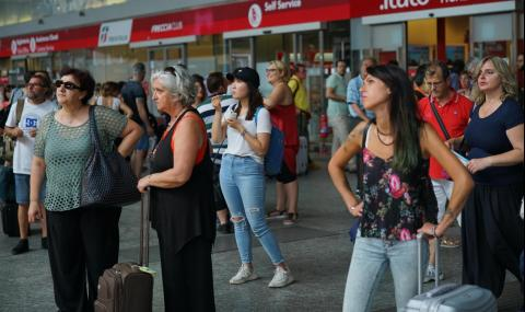 Транспортен хаос в Италия
