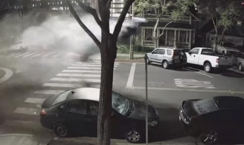 Жена шофьор, мощна кола и употреба на наркотици: Вижте последиците (ВИДЕО)
