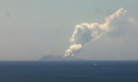 Вулкан се събуди и вдигна по тревога Нова Зеландия (ВИДЕО)