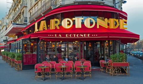 Пожар пламна в прочуто парижко кафене