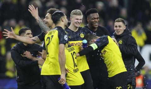 Борусия Дортмунд взе аванс срещу ПСЖ