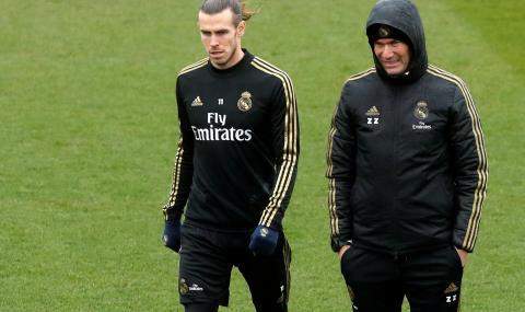 Футболистите на Реал ядосани на Зидан заради Бейл
