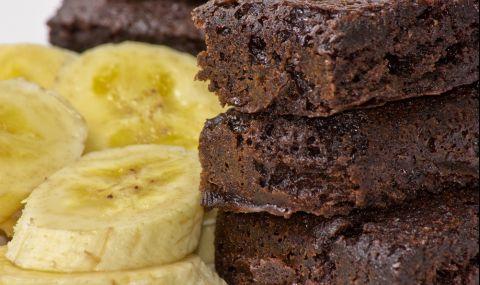 Рецепта на деня: Брауни с банан
