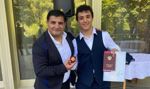 Със златен медал завърши образованието си Едмонд Назарян