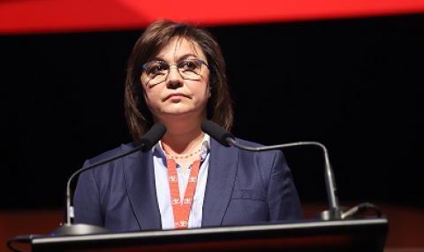 Корнелия Нинова: Имаме министър-председател, който не е компетентен по нищо