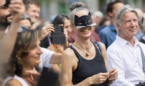 Демонстрации на активисти в Цюрих - 1