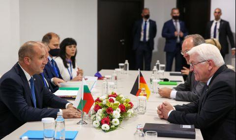 Румен Радев: България очаква стратегически инвестиции от Германия