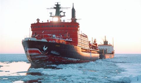 Увеличиха срока на експлоатация на руски атомен ледоразбивач