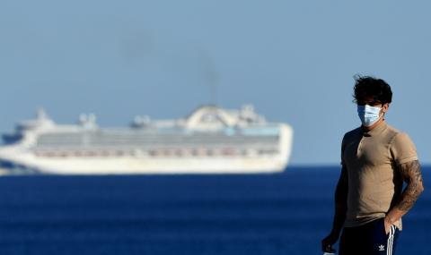 Вирус на борда: Заразени пасажери на круизен кораб