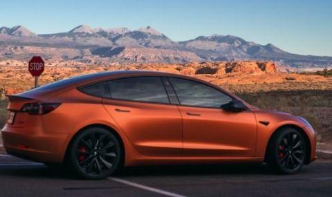 С какъв пробег Tesla Model 3 вреди на околната среда по-малко от кросоувър с ДВГ?