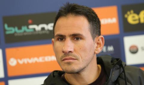 Живко Миланов се контузи на първата си тренировка