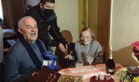 Столичанка отпразнува 100-годишен юбилей в първия ден на 2021 г.