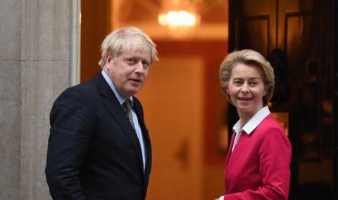 Подновяват преговорите между Великобритания и ЕС в Брюксел