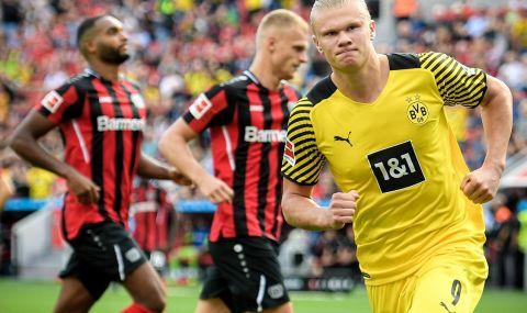 Борусия Дортмунд взе три точки след луд мач с Байер Леверкузен - 1