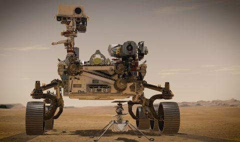 Хеликоптер полита на Марс