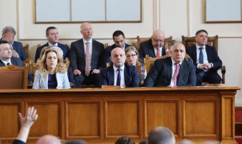 Народното събрание обяви извънредно положение