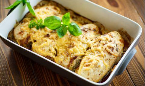 Рецепта за вечеря: Сочни пилешки филенца с кашкавал
