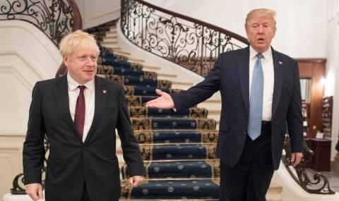 Тръмп: Ще бъде ужасно, ако блокират плана на Джонсън