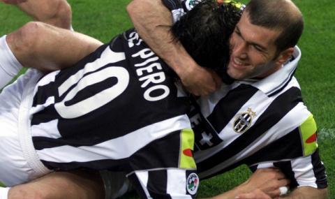 Алесандро дел Пиеро: Зидан играеше истински футбол