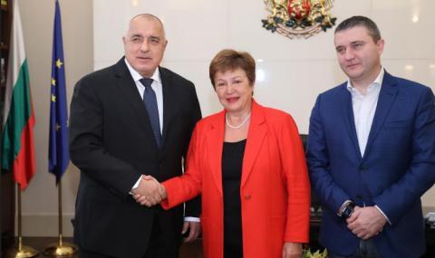Кристалина Георгиева хвали правителството за фискалната политика