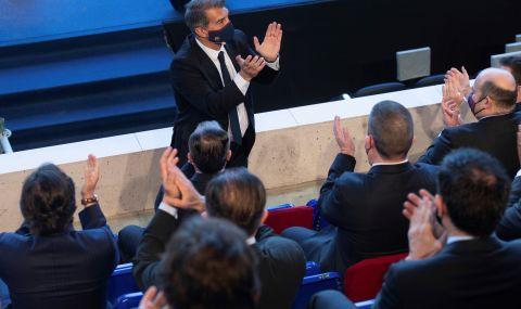 Лапорта официално е президент на Барселона
