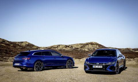 Най-мощните големи VW-та - новите Arteon R и Arteon R Shooting Brake