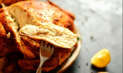 Рецепта за вечеря: Пиле печено в плик