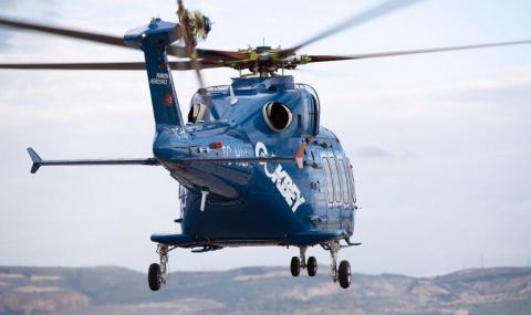 Турският хеликоптер TAI T625
