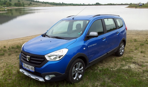 Тест на новата Dacia Lodgy Stepway - 1