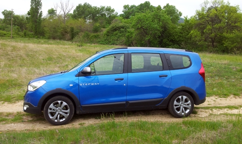 Тест на новата Dacia Lodgy Stepway - 3