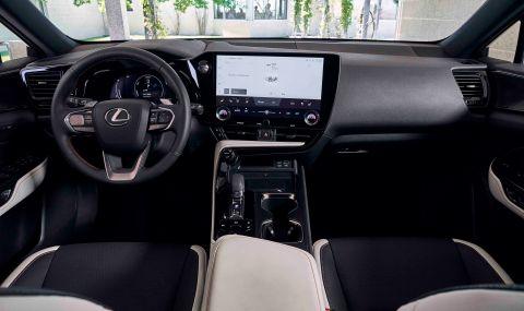 Lexus показа обновения NX с първото за марката plug-in хибридно задвижване - 14