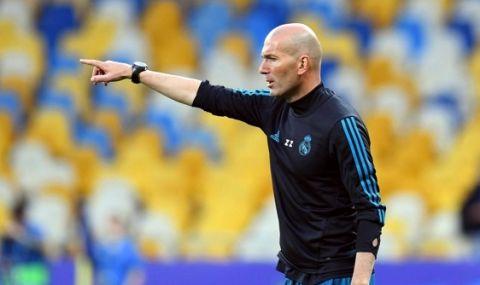 Раул фаворит за наследник на Зидан в Реал