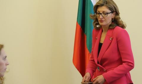 Екатерина Захариева за скандала с Борисов: Това е фалшива новина