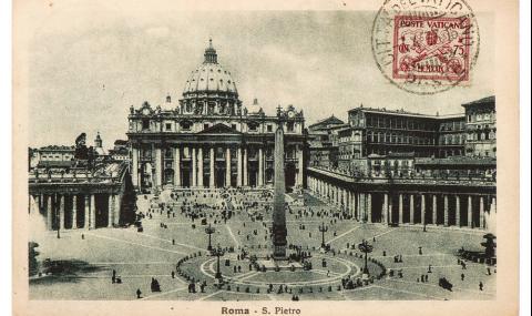 Картичка от Рим пристигна след половин век в Бавария (СНИМКА)