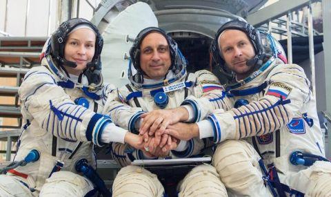 Избран е екипажът за първия художествен филм в Космоса - 1