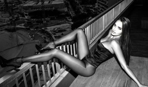 Бивша гимнастичка, попаднала в списък на елитни проститутки, отново провокира в Инстаграм