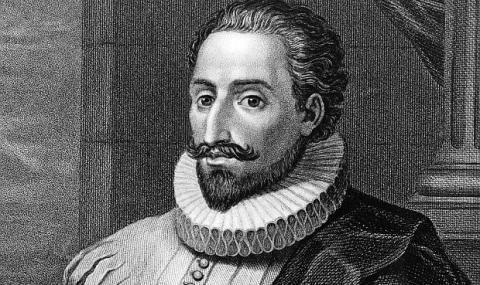23 април 1616 г.:  Умира Мигел де Сервантес