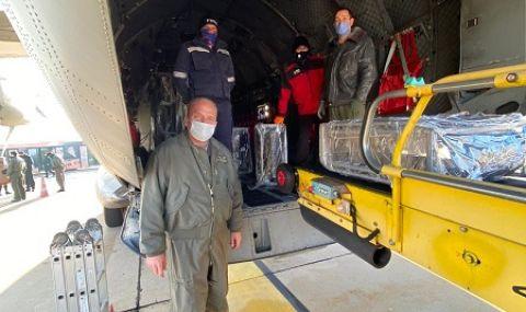 Хърватия получи първите пратки хуманитарна помощ от България